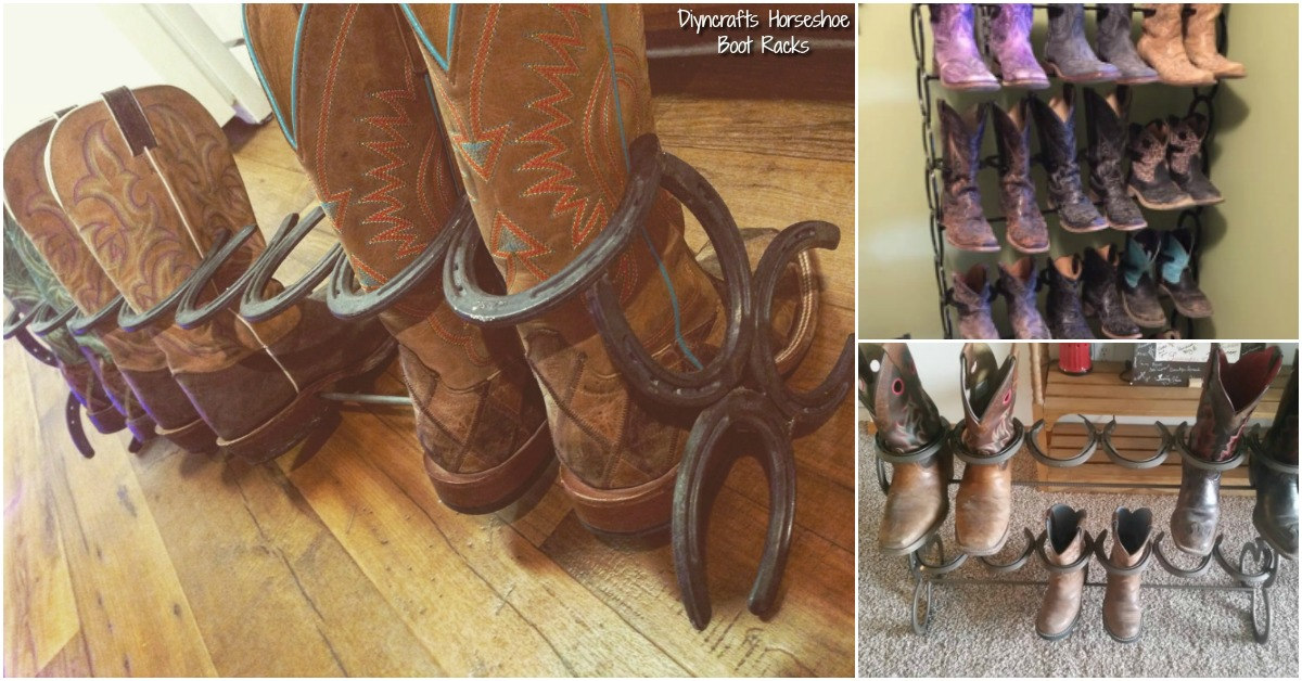How To Make This Ridiculously Simple Diy Horseshoe Boot