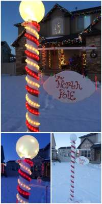north pole christmas decorations
