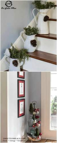 25 Gorgeous Farmhouse Inspired DIY Christmas Decorations