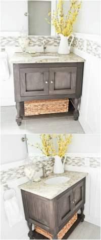 20 Gorgeous DIY Bathroom Vanities to Beautify Your Beauty ...