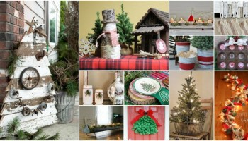 25 gorgeous farmhouse inspired diy christmas decorations for a charming country christmas - Country Christmas Decorations