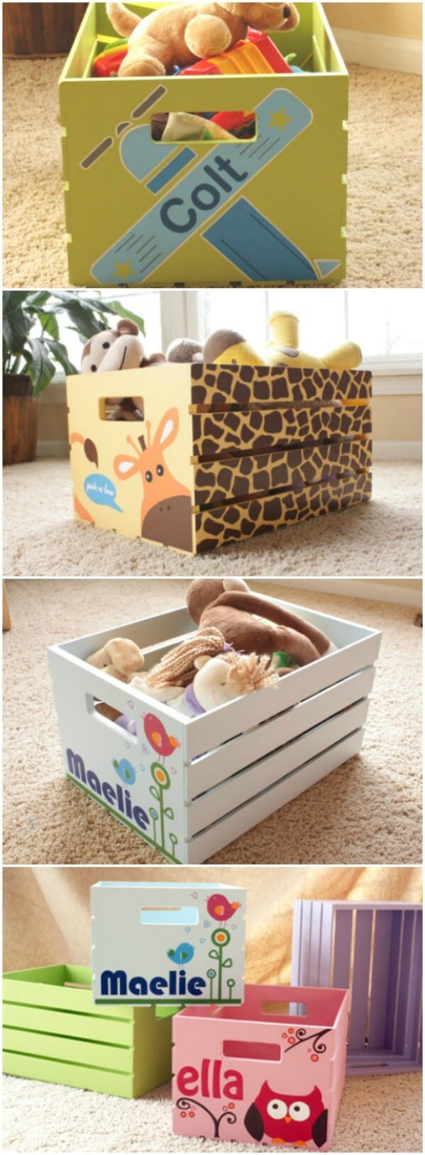 Cute Customized Storage Boxes Pin it. Cute Customized Storage Boxes. A lot  of baby shower gifts ...