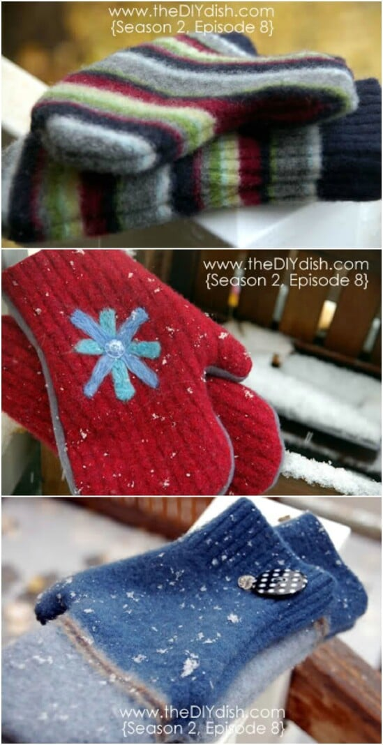 chair leg covers christmas design online shop 50 amazingly creative upcycling projects for old sweaters - diy & crafts