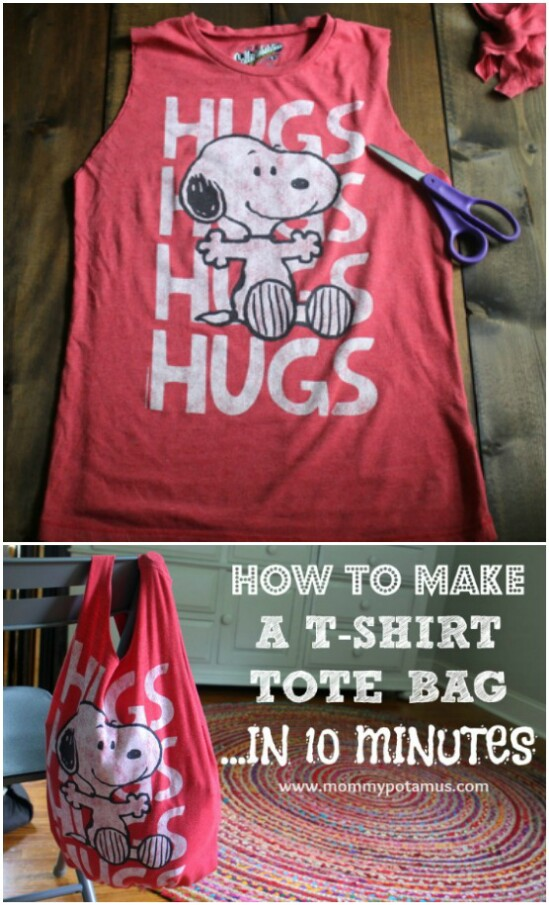 Baby Bag - 20 Adorably Creative Upcycling Projects To Repurpose Old Baby Clothes