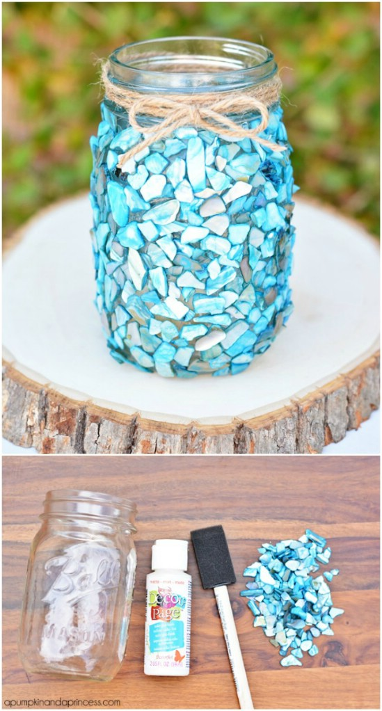 50 Brilliantly Decorative Mason Jar Home Decorating Projects  Page 3 of 3  DIY  Crafts