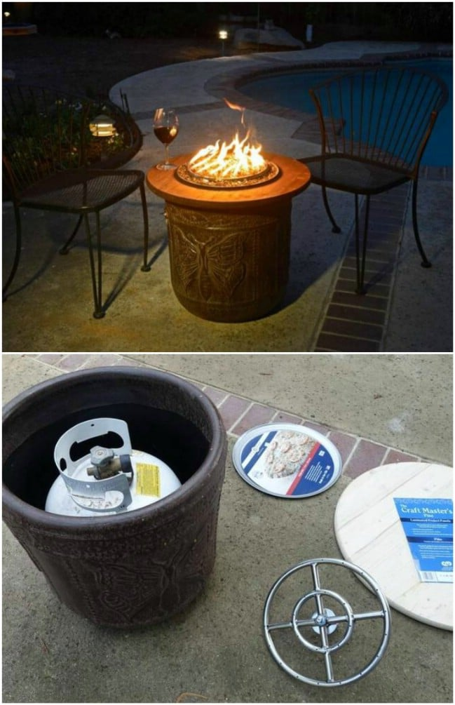 15 DIY Patio Fire Bowls That Will Make Your Summer