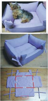 20 Easy DIY Dog Beds and Crates That Let You Pamper Your ...
