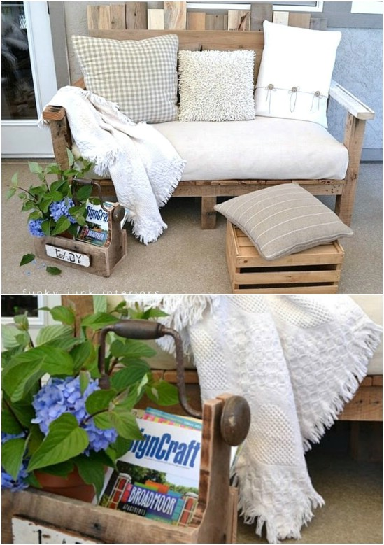 18 Amazing DIY Backyard Furniture Ideas