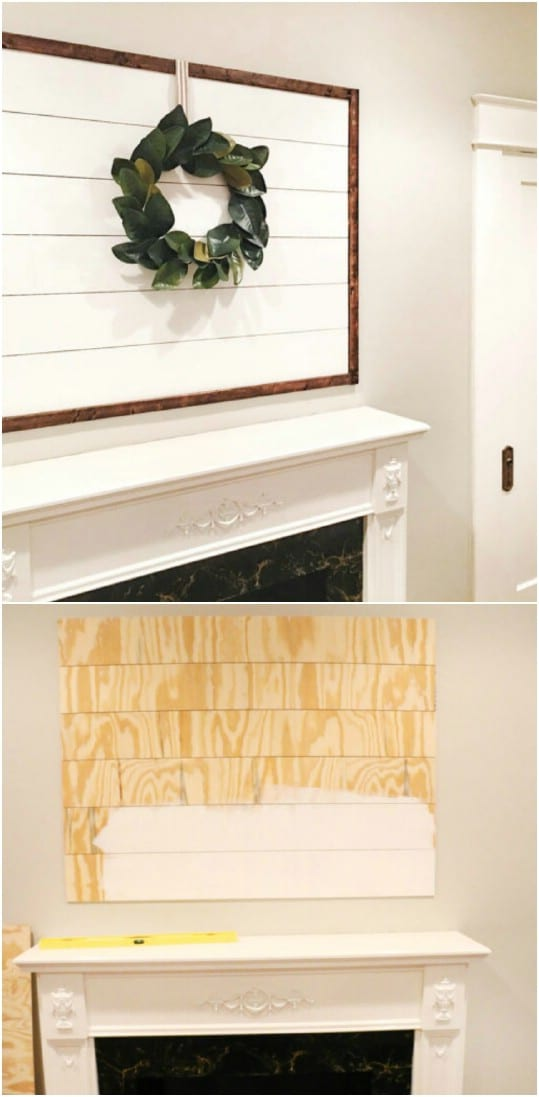 kitchen nook table hood cleaning 15 rustic diy shiplap decor and furniture ideas - style ...