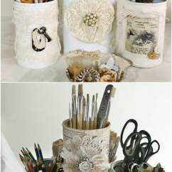 Decorating Kitchen Cabinets Remodel App 14 Diy Repurposing Ideas For Empty Coffee Containers ...