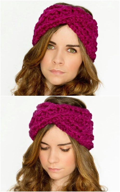 Warm DIY Headbands 15 Great Crochet And Knitting Patterns