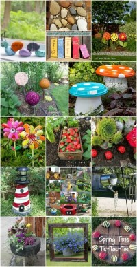 30 Adorable Garden Decorations To Add Whimsical Style To ...