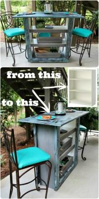 30 Genius Ideas for Repurposing Old Bookcases Into ...