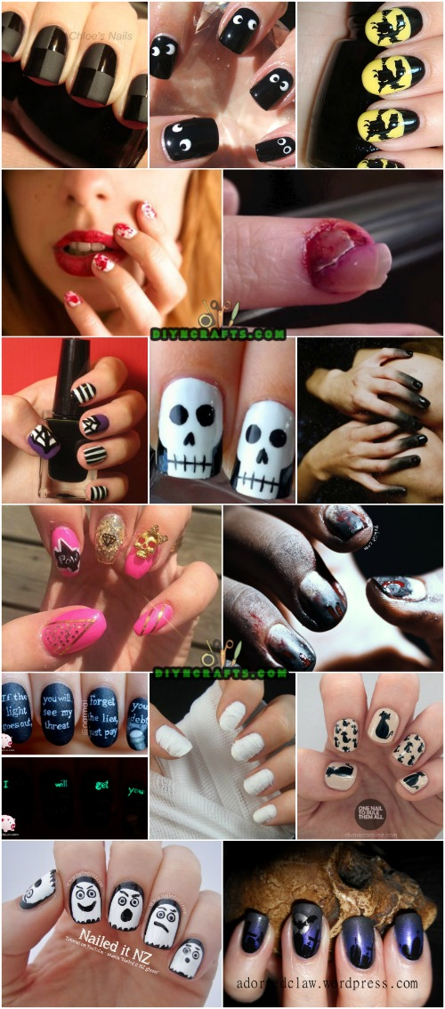 40 Frightening And Fun Nail Art Designs You Can Do Yourself