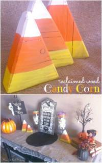 25 Fantastic Reclaimed Wood Halloween Decorations For Your ...