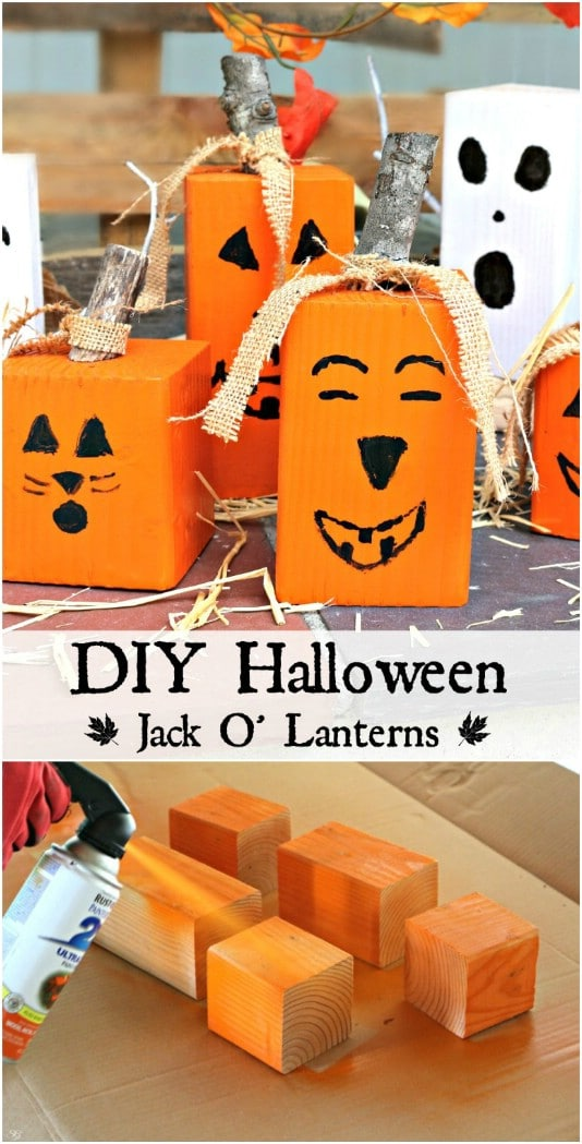 15 Spooky DIY Wood Halloween Decorations For Your Outdoor