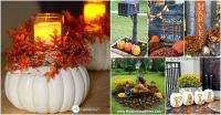 20 DIY Outdoor Fall Decorations That'll Beautify Your Lawn ...