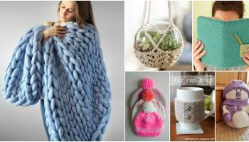 a24cfb23e20d 30 Super Easy Knitting and Crochet Patterns for Beginners - DIY   Crafts