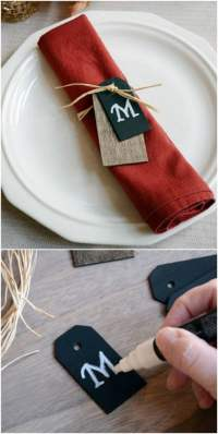 25 DIY Napkin Rings That Will Dress Up Your Thanksgiving ...
