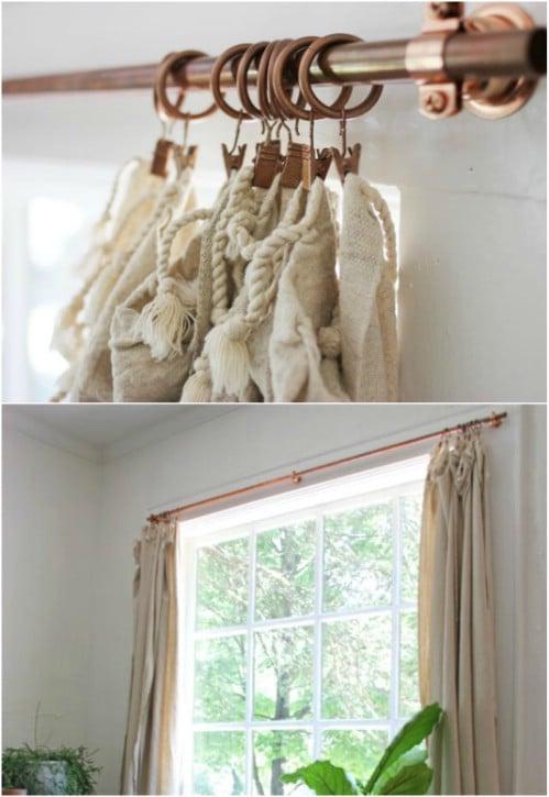 Diy Curtain Hangers | www.redglobalmx.org
