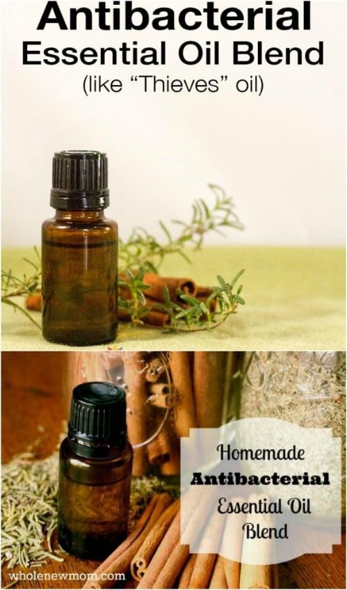 Homemade Antibacterial Blend