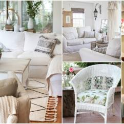 Diy Living Room Chair Cover How To Decorate A And Dining Combination 20 Easy Make Slipcovers That Add New Style Old Furniture Crafts