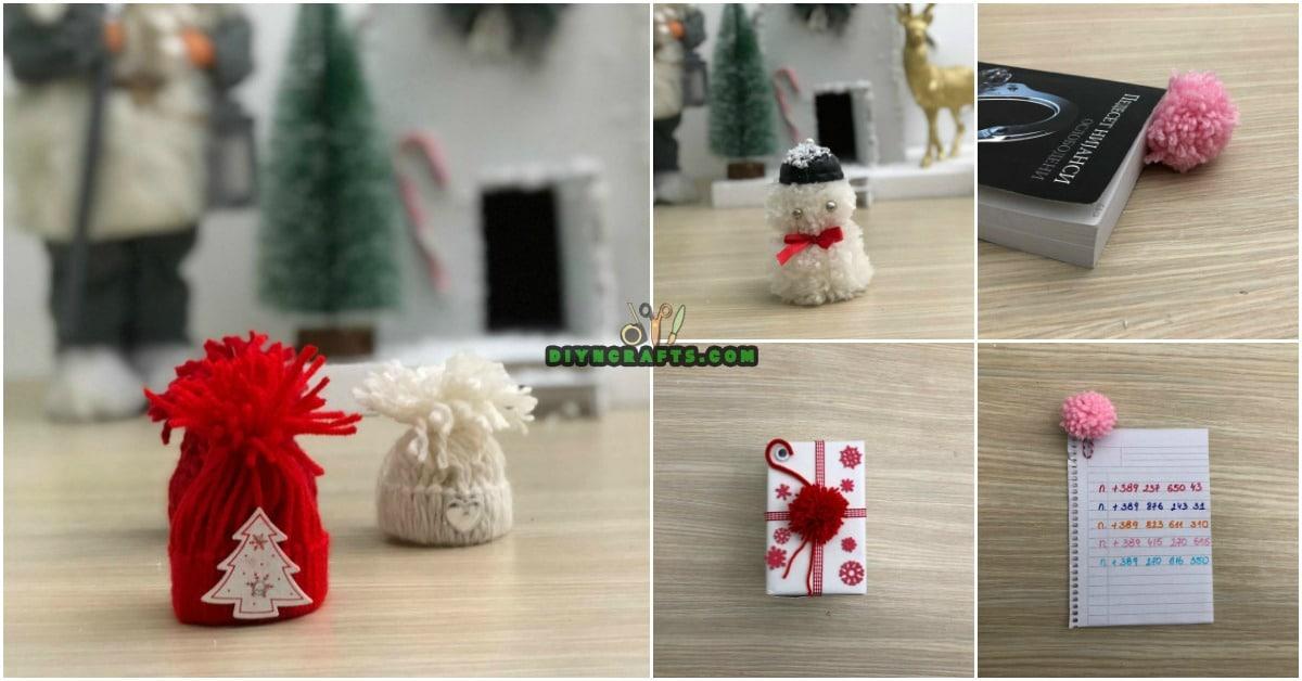 4 Easy DIY Christmas Yarn Crafts to Spread Holiday Cheer  DIY  Crafts