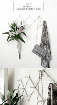 13 Creative DIY Coat Rack Ideas - Style Motivation
