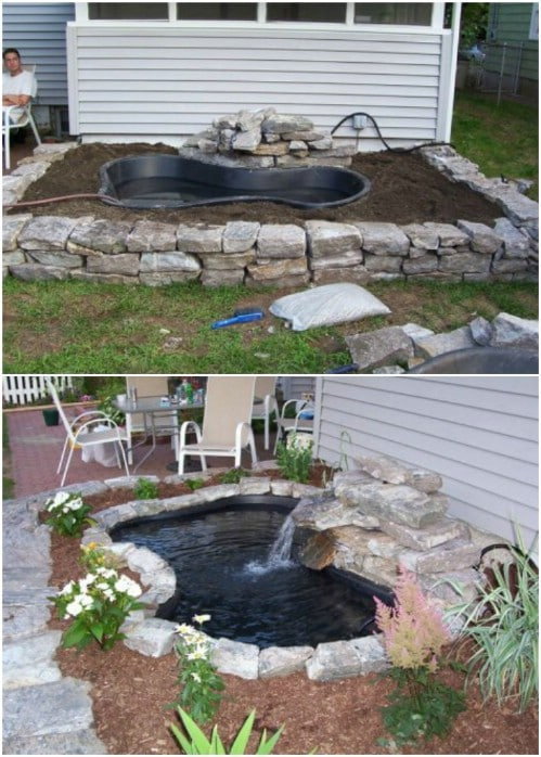 budget friendly diy garden ponds