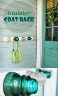 Chucky's Place: 13 Creative DIY Coat Rack Ideas