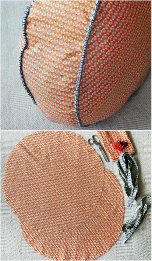 15 Comfy DIY Floor Pillows and Cushions