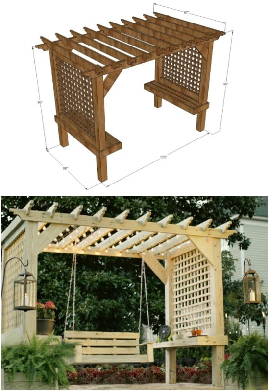 15 Diy Pergola Ideas And Plans You Can Build In Your