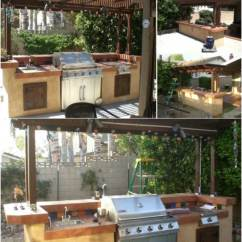 Outdoor Kitchen Bar Curtain Fabric 15 Amazing Diy Plans You Can Build On A Budget With Pergola