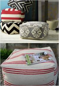 15 Comfy DIY Floor Pillows and Cushions - Style Motivation