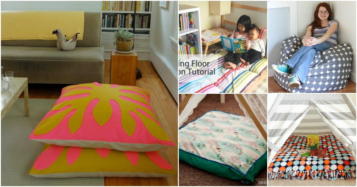 Ideas Floor Pillows