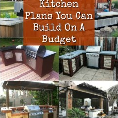 Diy Outdoor Kitchen Plans Dishwashers 15 Amazing You Can Build On A Budget Crafts