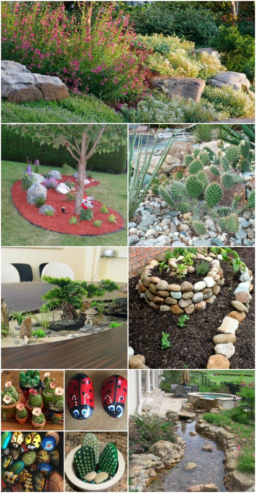 10 Gorgeous And Easy DIY Rock Gardens That Bring Style To Your Outdoors  DIY  Crafts