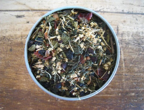 Homemade Allergy Relief Herbal Tea