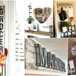 Kitchen Signs For Home Depot Delta Faucets 20 Rustic Diy That Match Your Farmhouse Decor Crafts