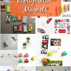 Kitchen Magnets Hotels With Kitchens In Rooms 20 Easy Diy Refrigerator To Decorate Your Fun