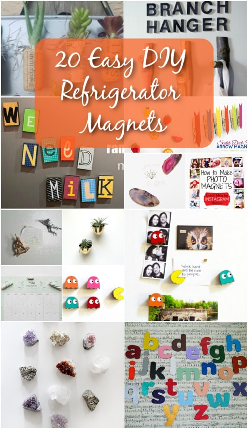 kitchen magnets moen anabelle faucet 20 easy diy refrigerator to decorate your with fun