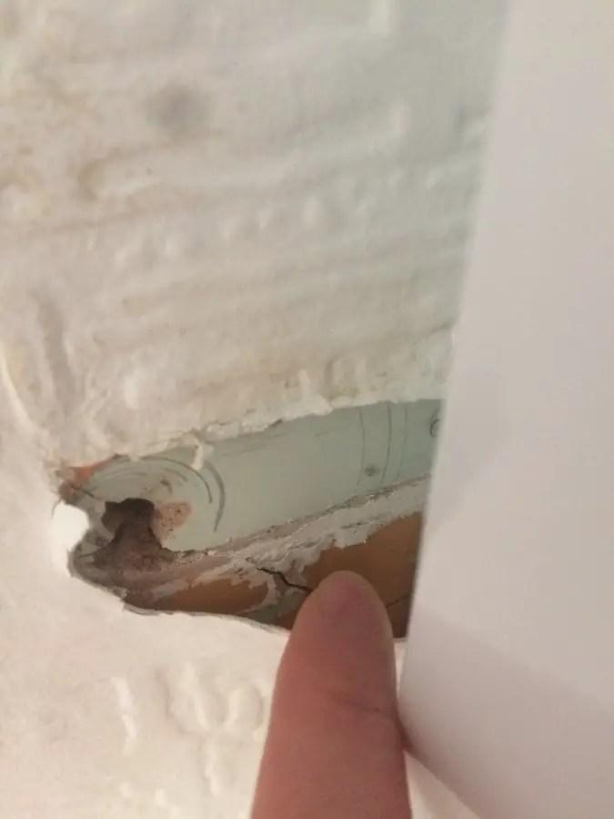 Just plaster or asbestos  DIYnot Forums