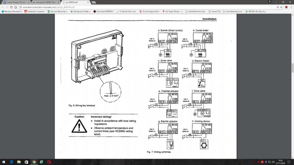 medium resolution of 5000 honeywell thermostat wiring diagram