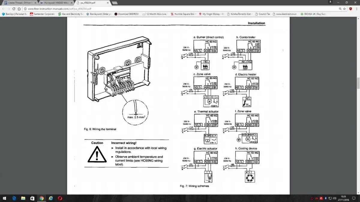 hight resolution of 5000 honeywell thermostat wiring diagram