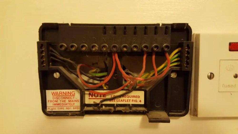 medium resolution of room thermostat wiring diagram