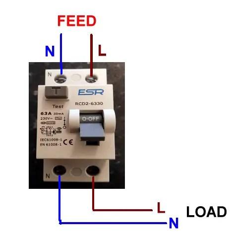 110 Electrical Wiring Diagram Wiring Up Rcd Rccb Diynot Forums