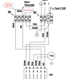 heat and cooling thermostat wiring diagram for two 3 nest [ 1000 x 1300 Pixel ]