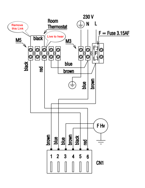 small resolution of heat and cooling thermostat wiring diagram for two 3 nest
