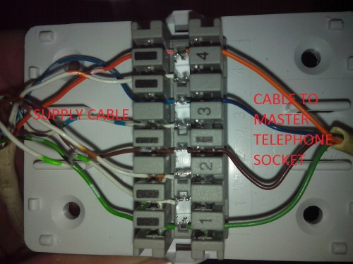 small resolution of telephone cable junction box wiring
