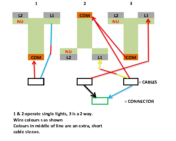 Wiring Diagram For 2 Gang 1 Way Switch